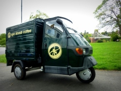 Ape About Coffee - our mobile Piaggio coffee cart